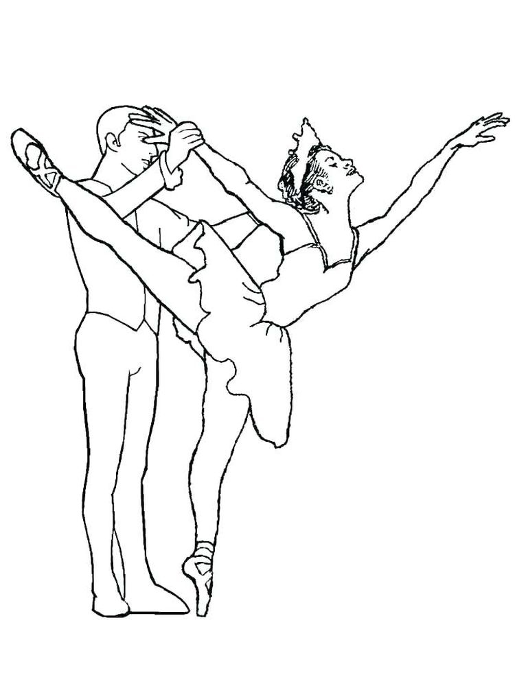 tap dance coloring pages