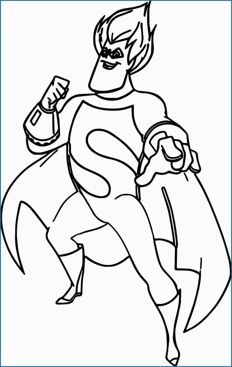 the incredibles elastigirl coloring pages