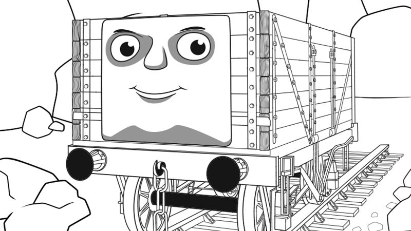 thomas the train and friends printable coloring pages