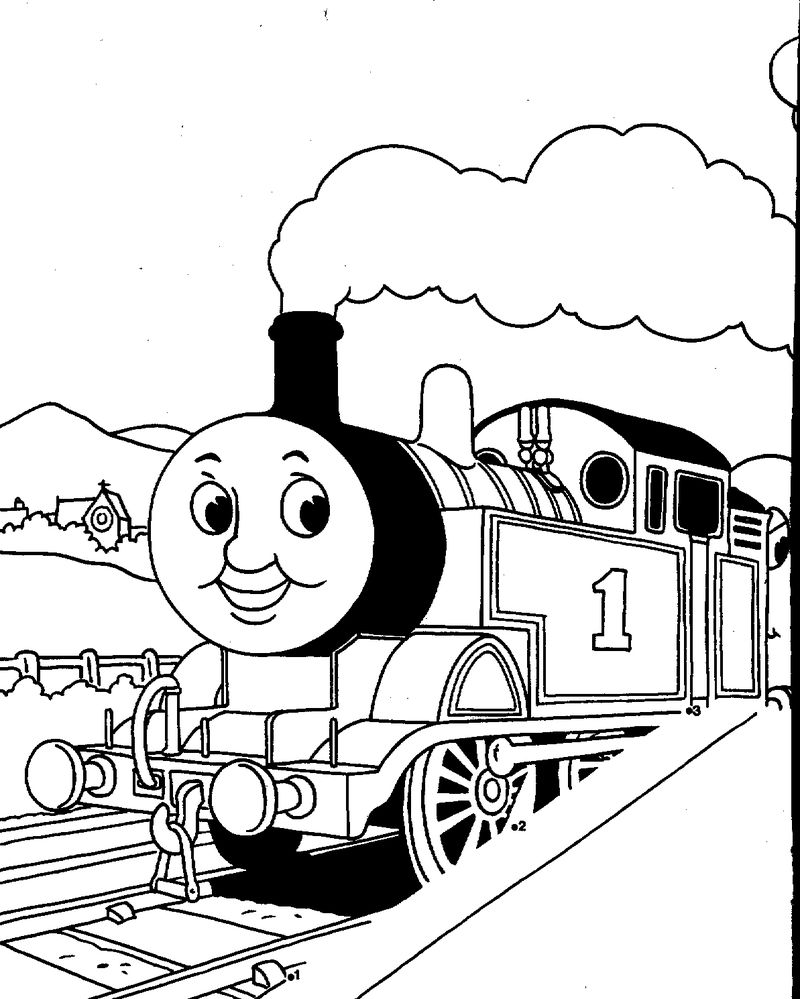 thomas the train coloring pages gordon