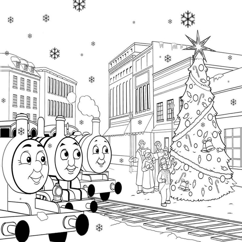 thomas the train coloring pages percy