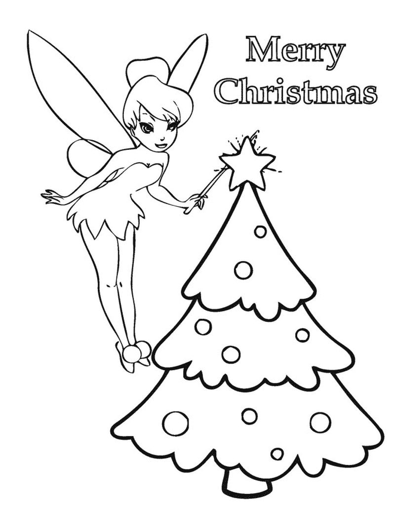 tinkerbell coloring pages printable free
