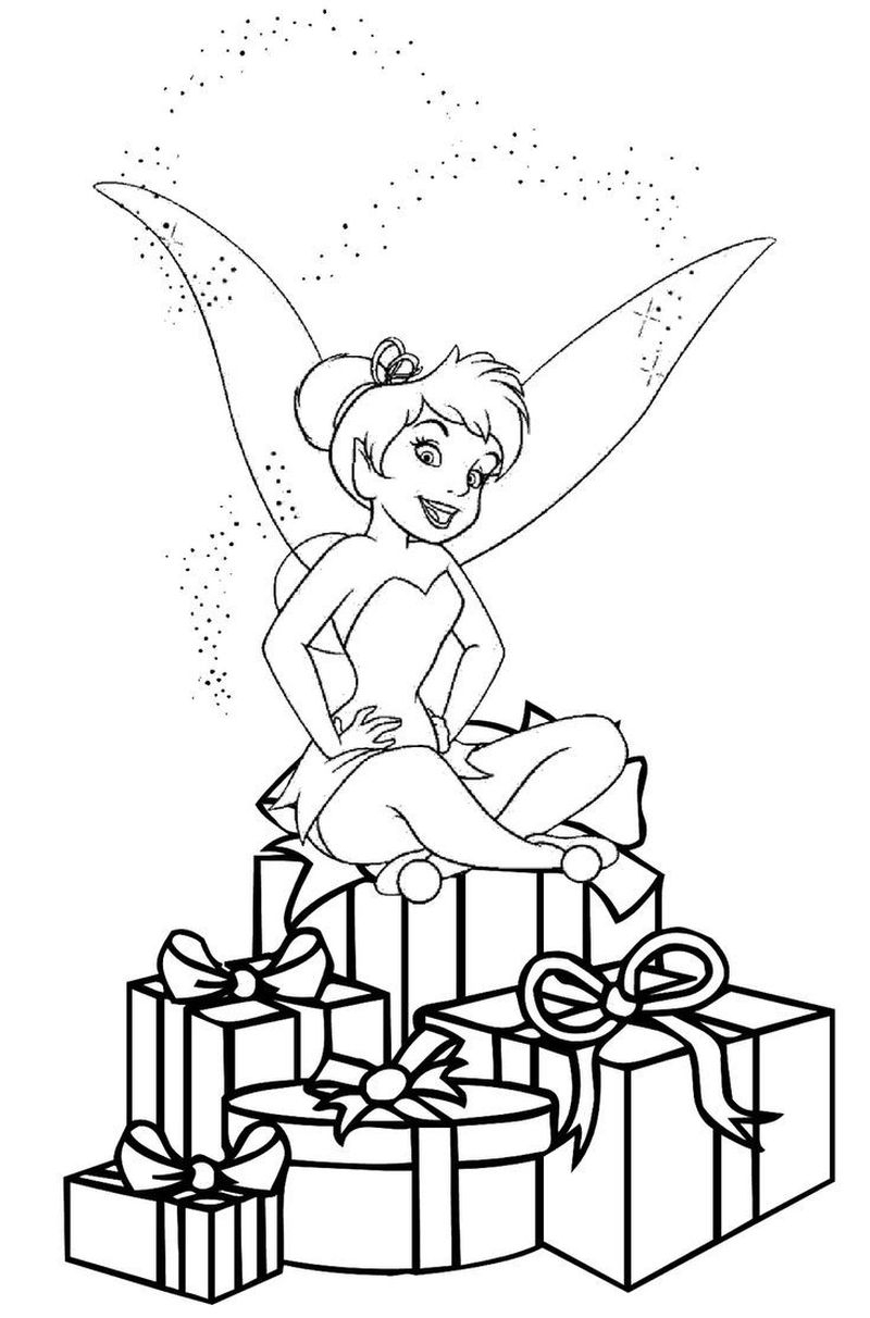 tinkerbell queen clarion coloring pages