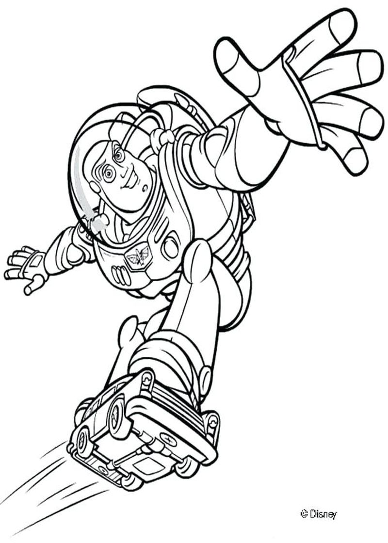 toy story 4 characters coloring pages