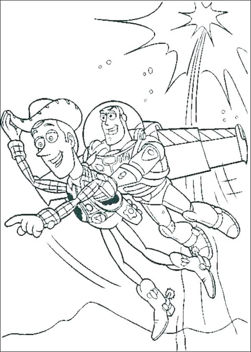 toy story coloring pages forky