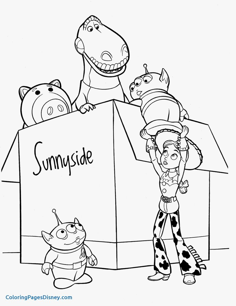 toy story coloring pages free printable