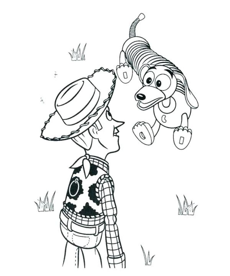 toy story coloring pages jessie