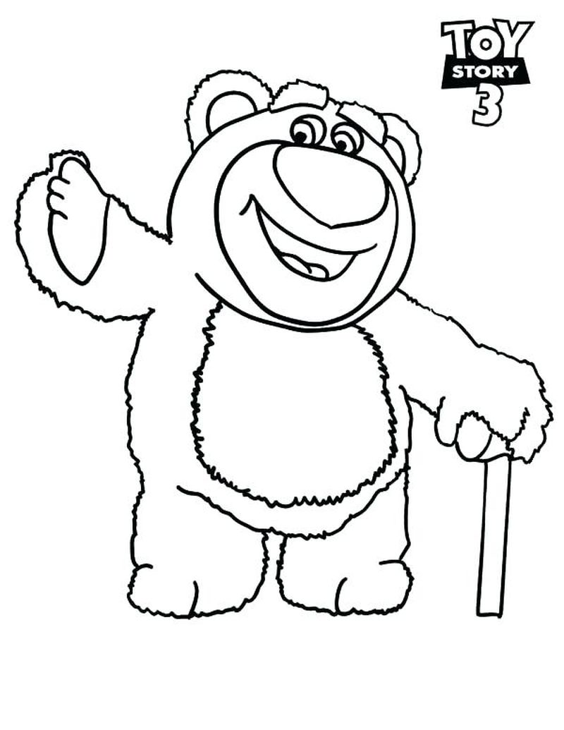 toy story colouring pages a4