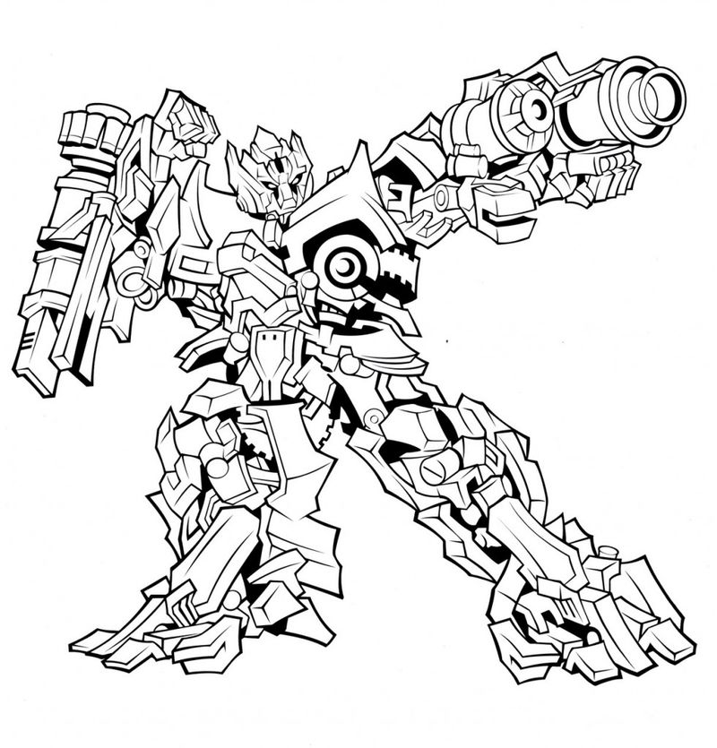 transformers coloring pages free
