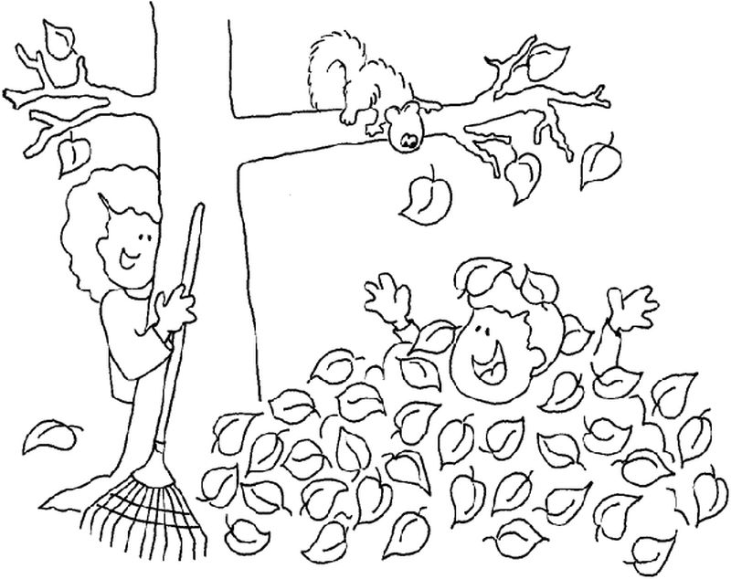 tree coloring pages clip art