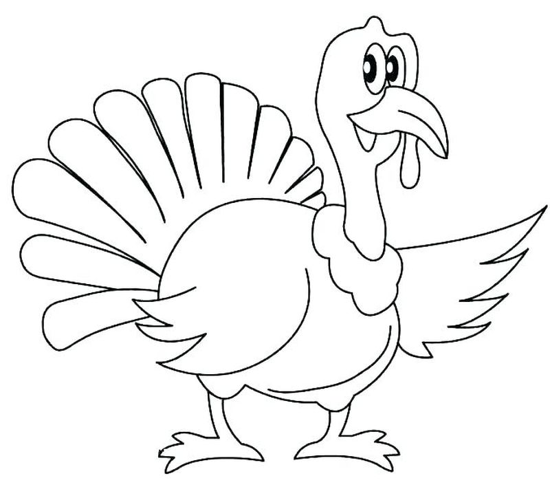 turkey coloring pages ideas
