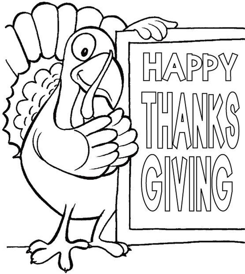 turkey coloring pages kindergarten