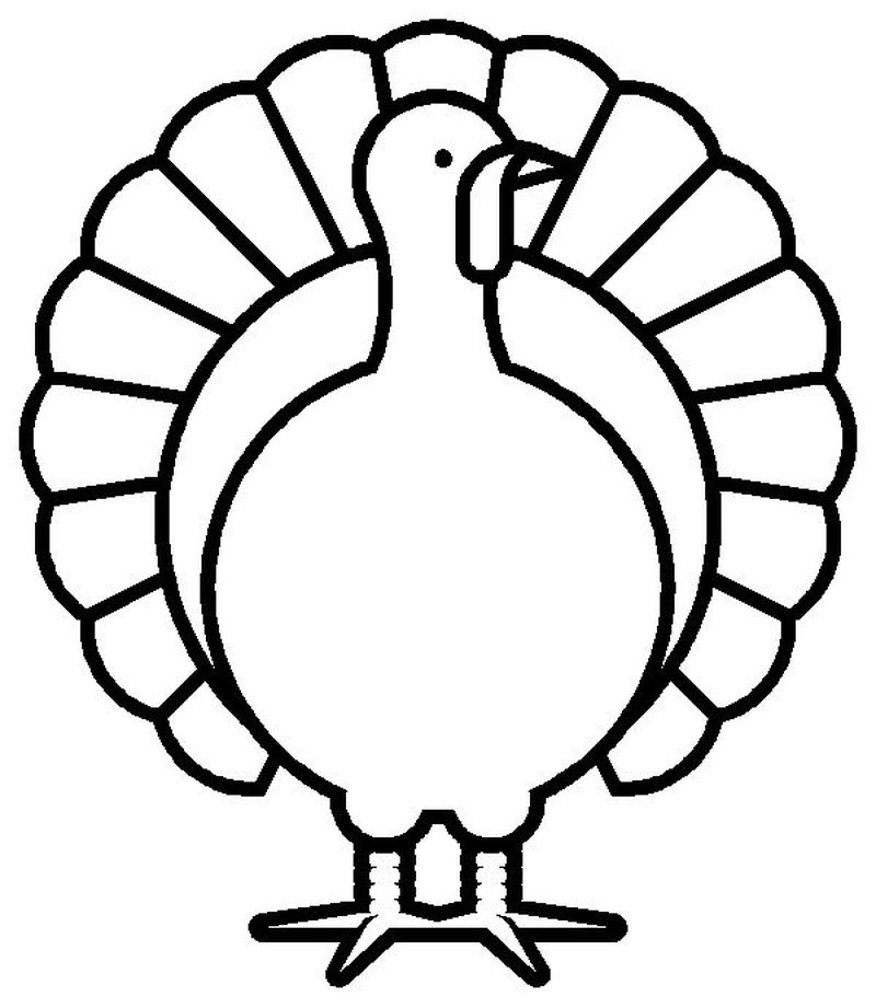 turkey coloring pages printables