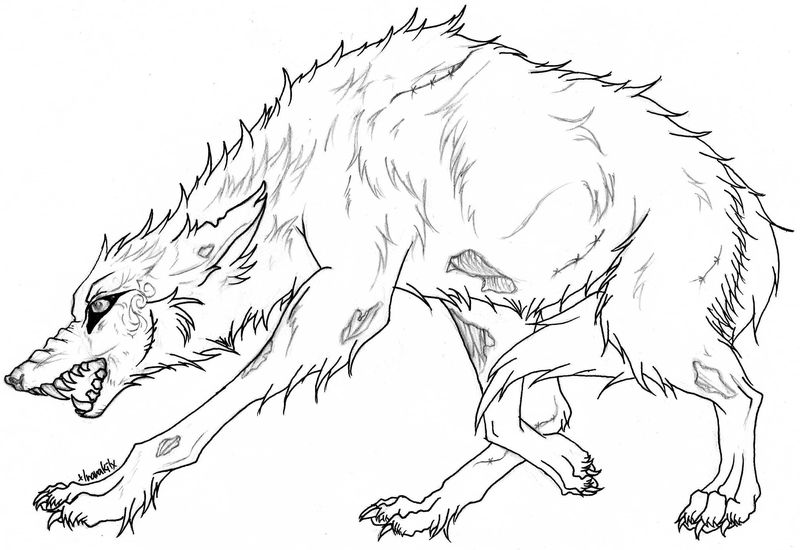 wolf coloring pages free printable pdf