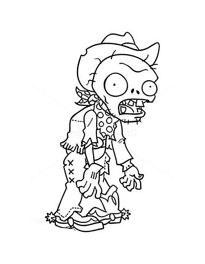 zombie catchers coloring pages