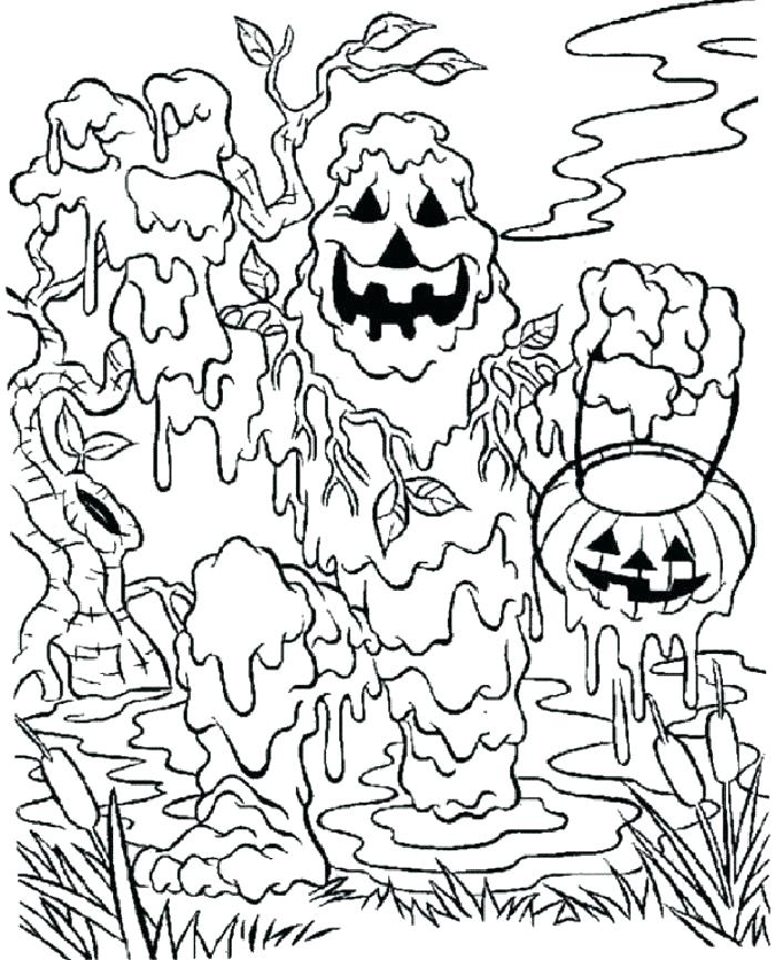 zombie coloring pages preschool