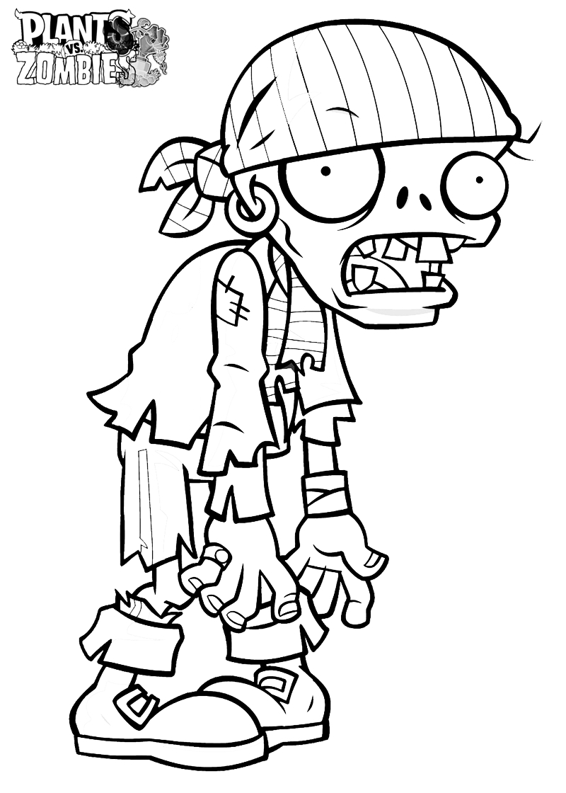 zombie disney characters coloring pages