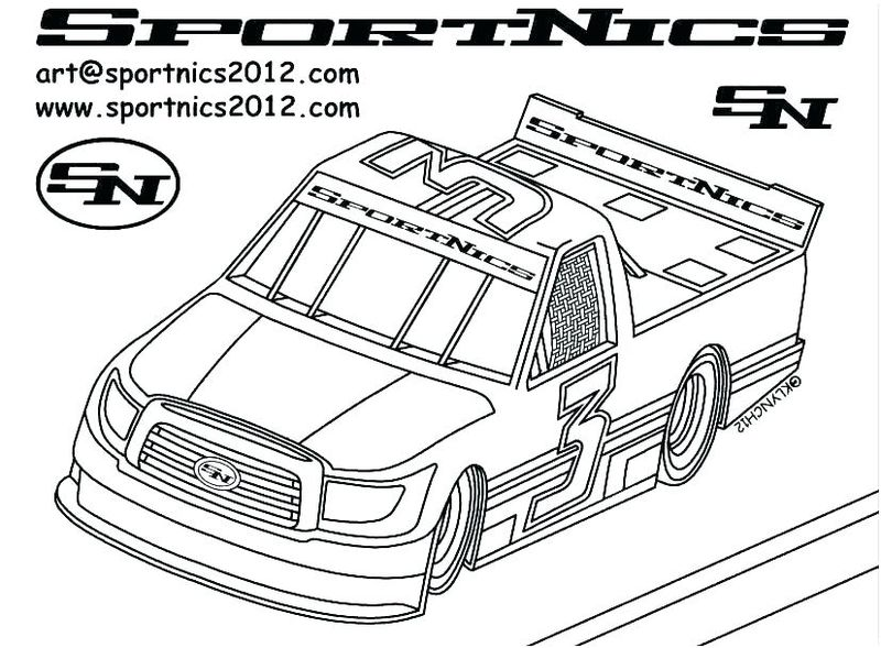 42 Target Car Nascar Coloring Pages Printable