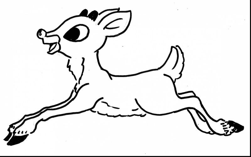Abominable Snowman Rudolph Coloring Pages Hd