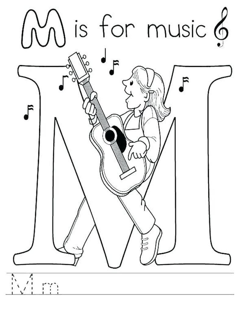 Adult Music Coloring Pages Pdf