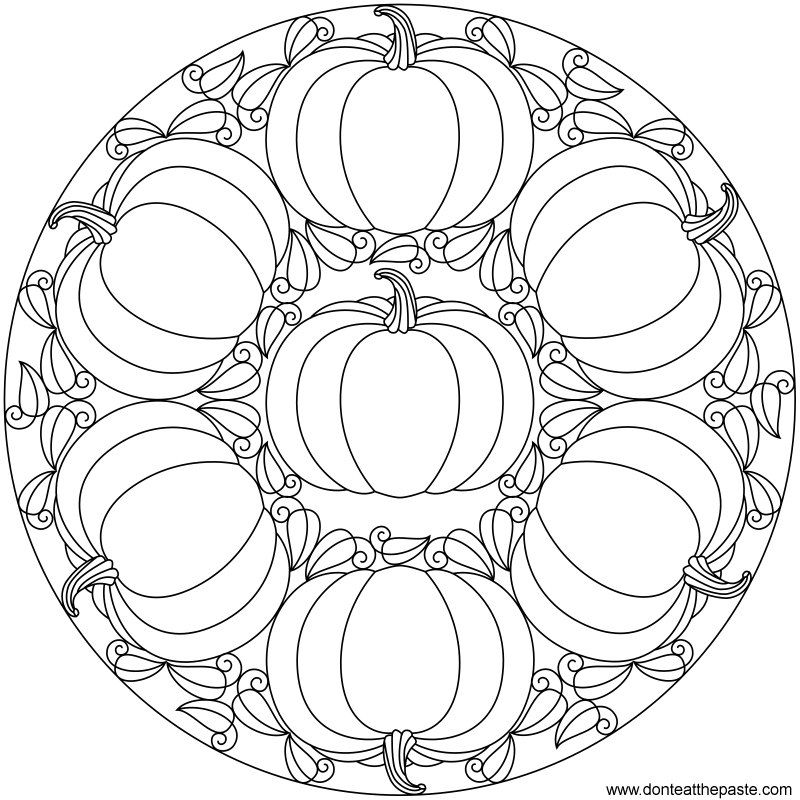 Coloring Mandala Pages Printable