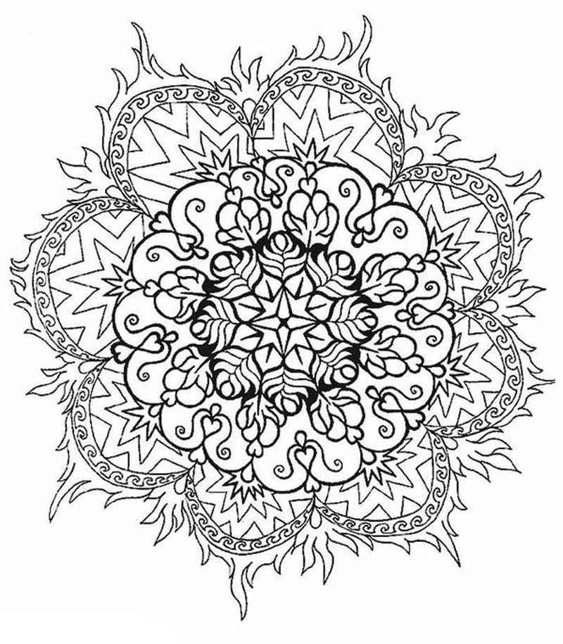 Coloring Mandalas Printable
