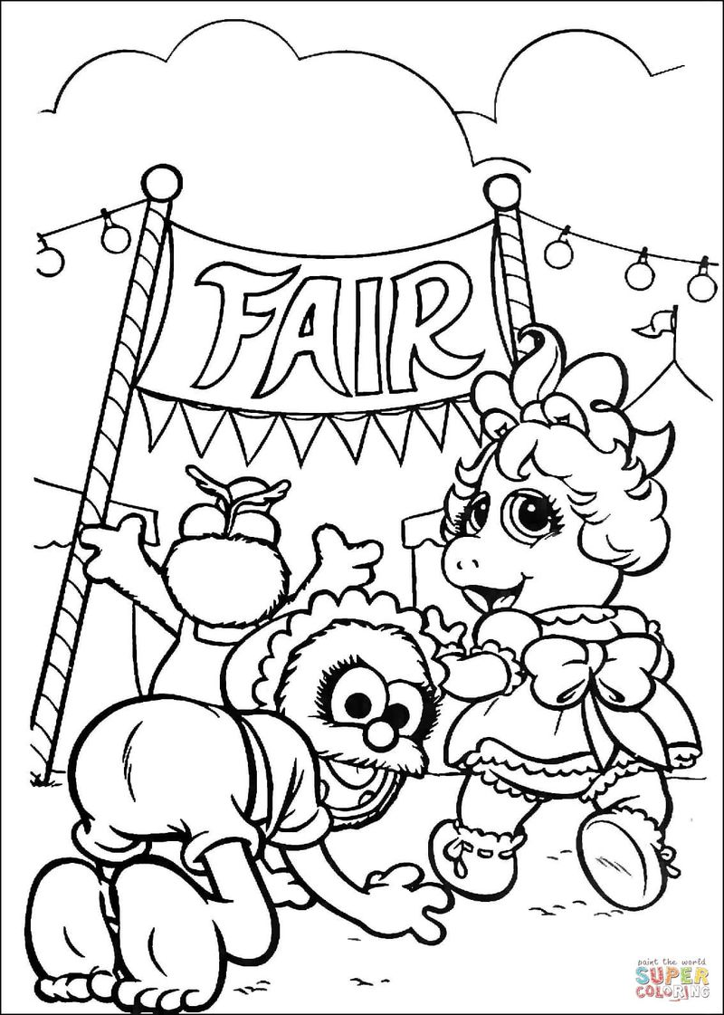 Coloring Pages For Babies Printable