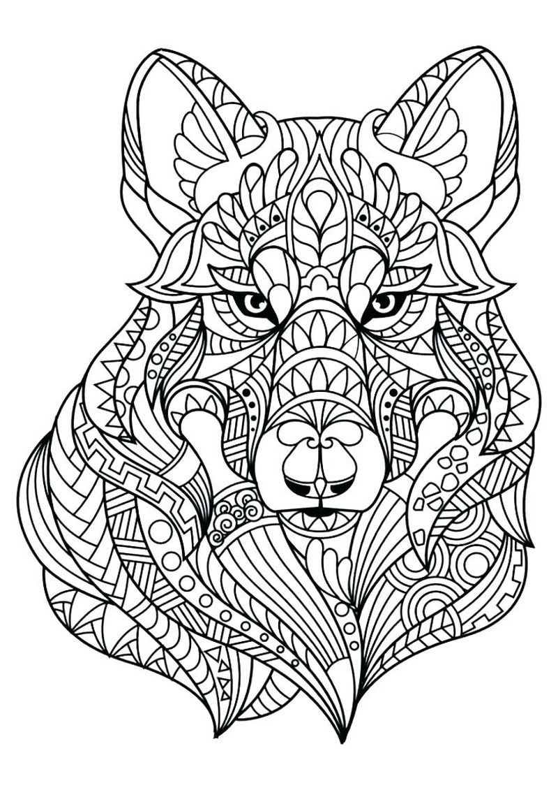 Coloring Pages Mandalas Printable