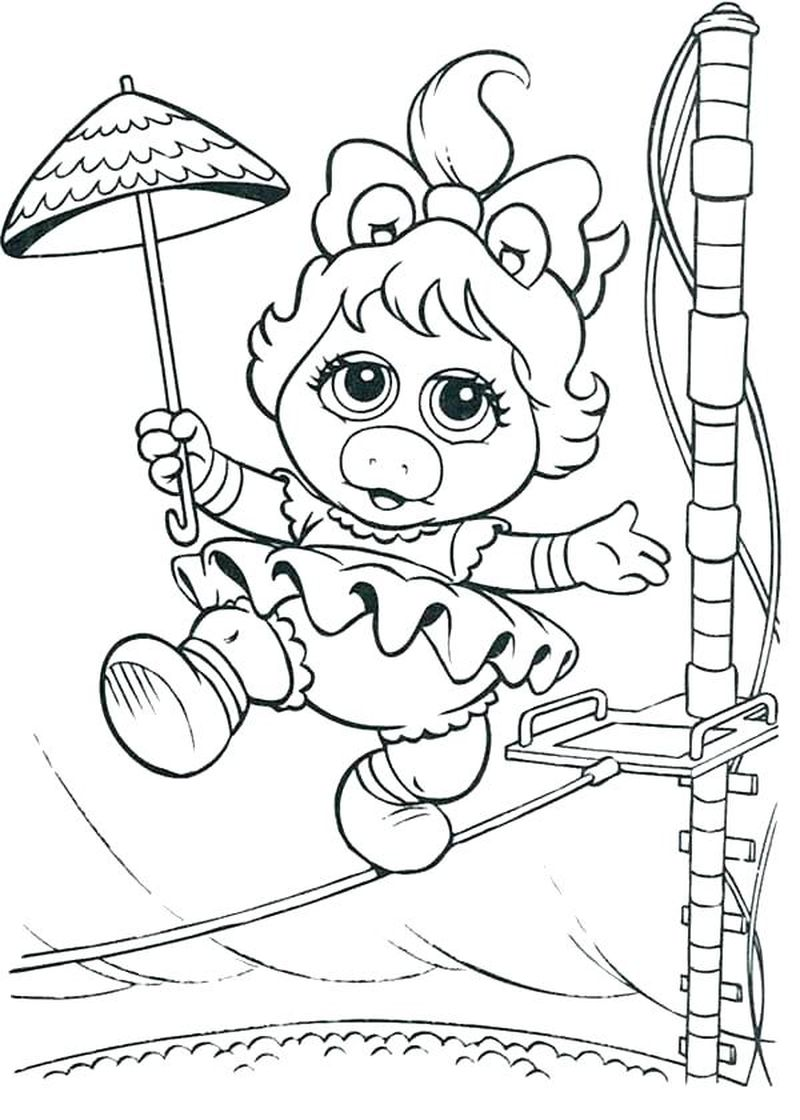 Coloring Pages Of Babies Printable