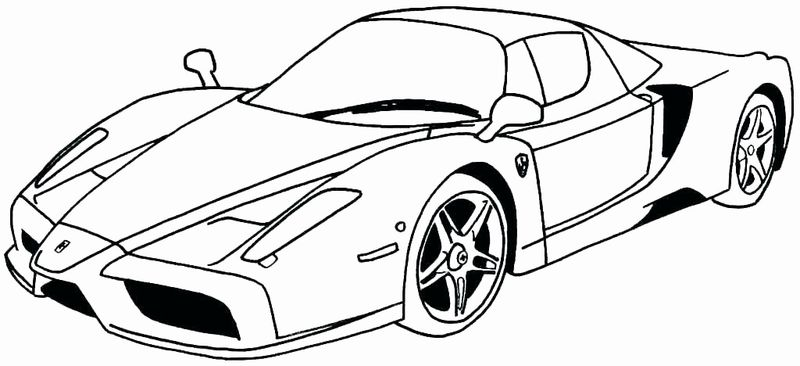 Coloring Pages Of Jeff Gordon Nascar Car Printable