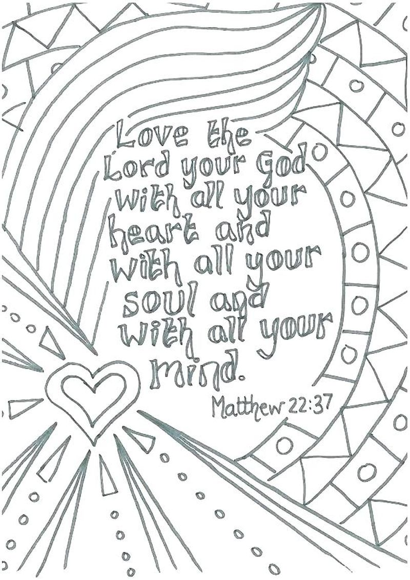 Coloring Pages Of Love Printable