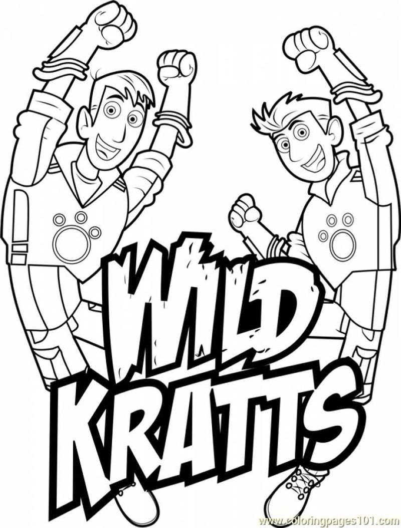 Coloring Pages Wild Kratts Printable