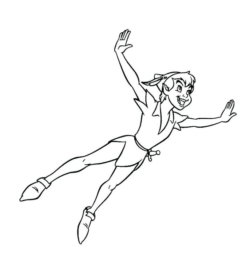 Coloring Printable peterpan Print