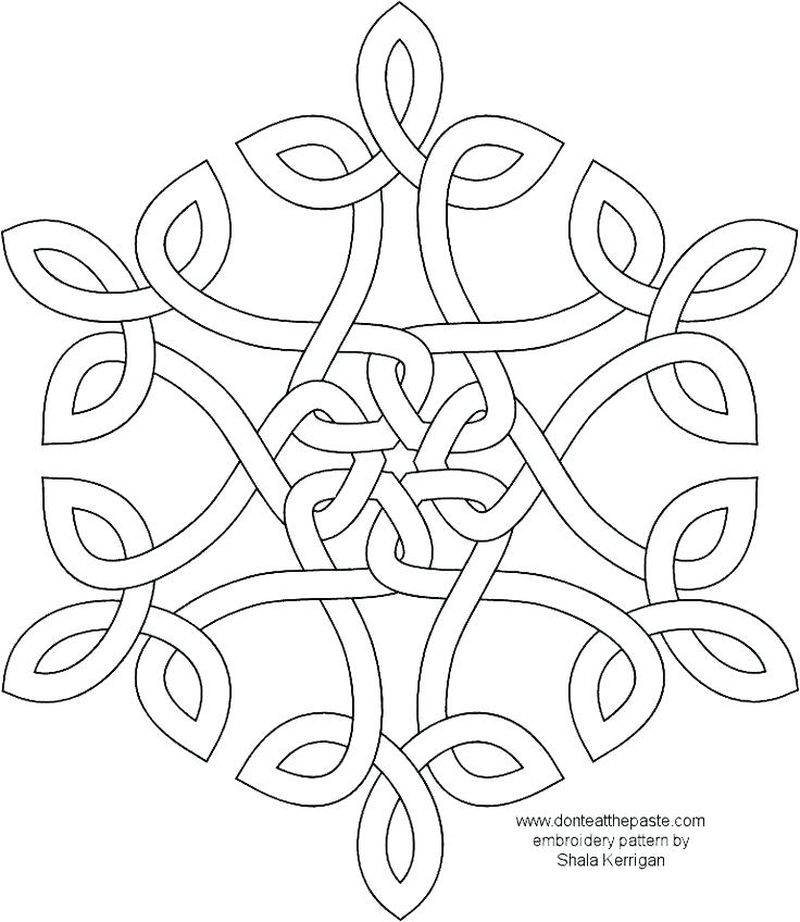 Coloring Sheets Mandala Printable