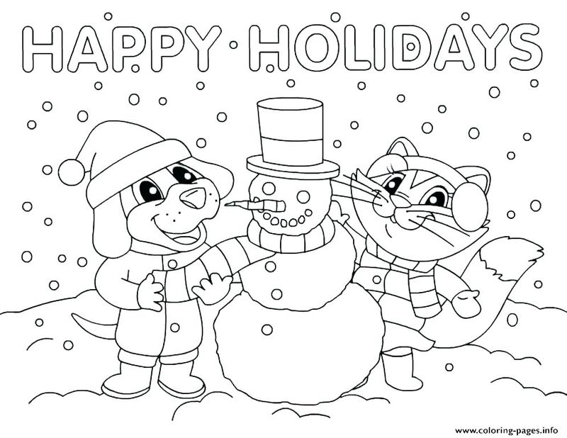 Disney Princess Holiday Coloring Pages Free