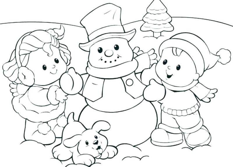 Free Coloring Holiday Pages Free