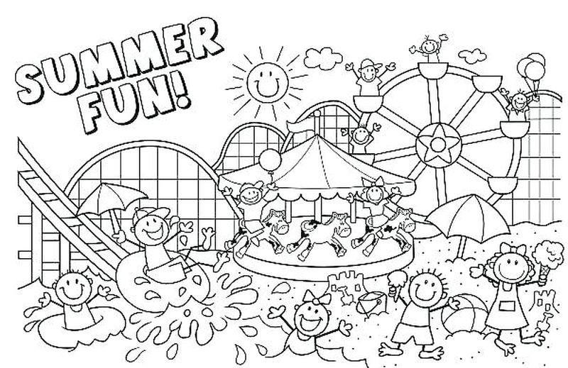 Free Coloring Pages Holiday Free