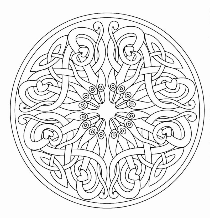 Free Printable Mandalas For Kids Printable