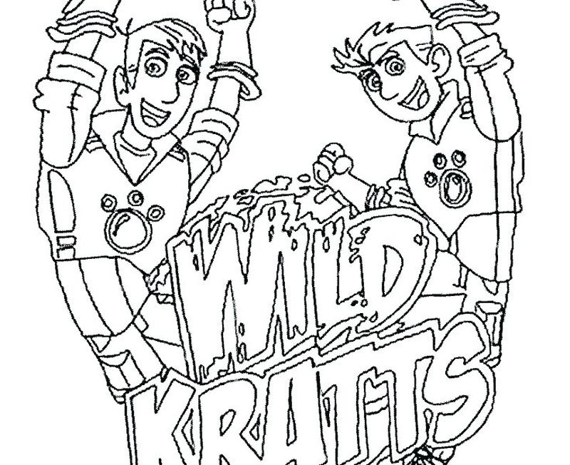 Free Wild Kratts Coloring Pages Printable