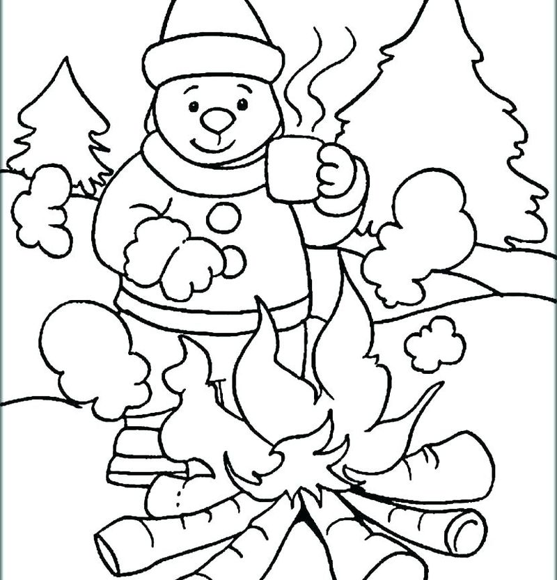 Fun Holiday Coloring Pages Free