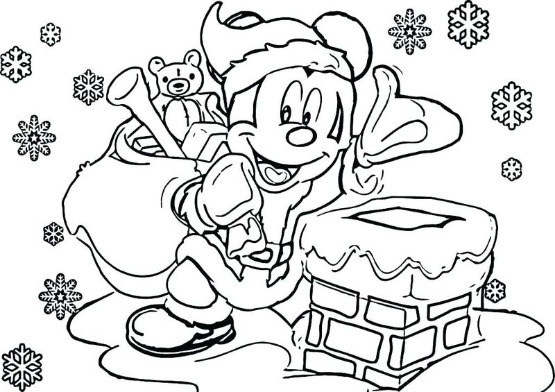 Holiday Christmas Coloring PagesFree