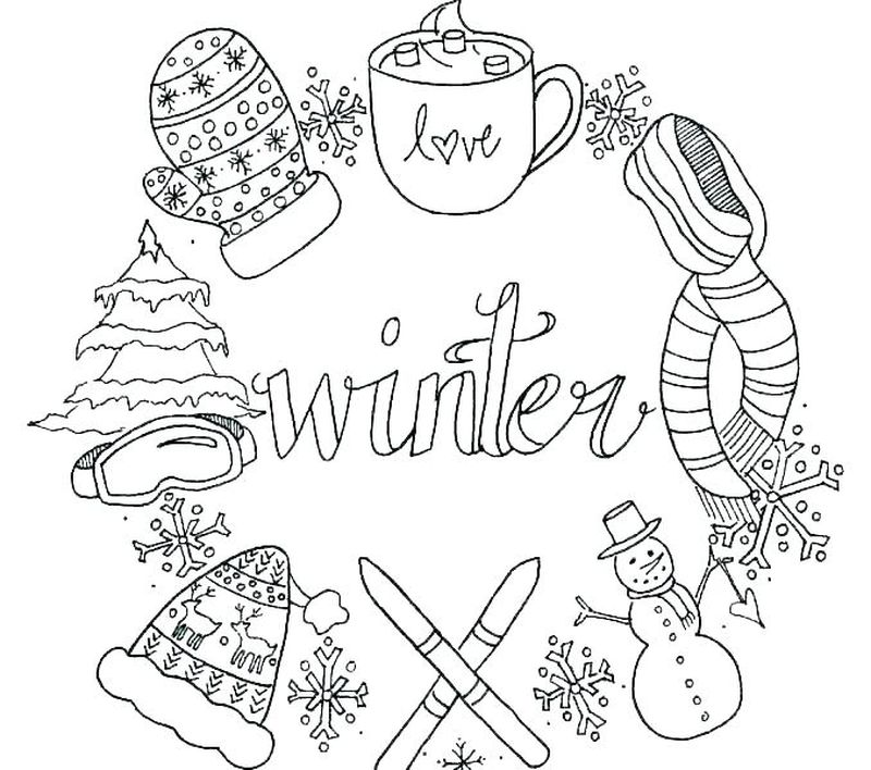 Holiday Coloring Pages Online Pdf