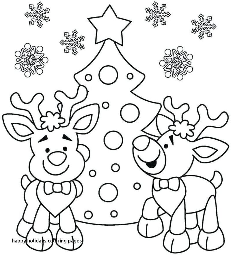 Holiday Coloring Pages Printable Free Pdf