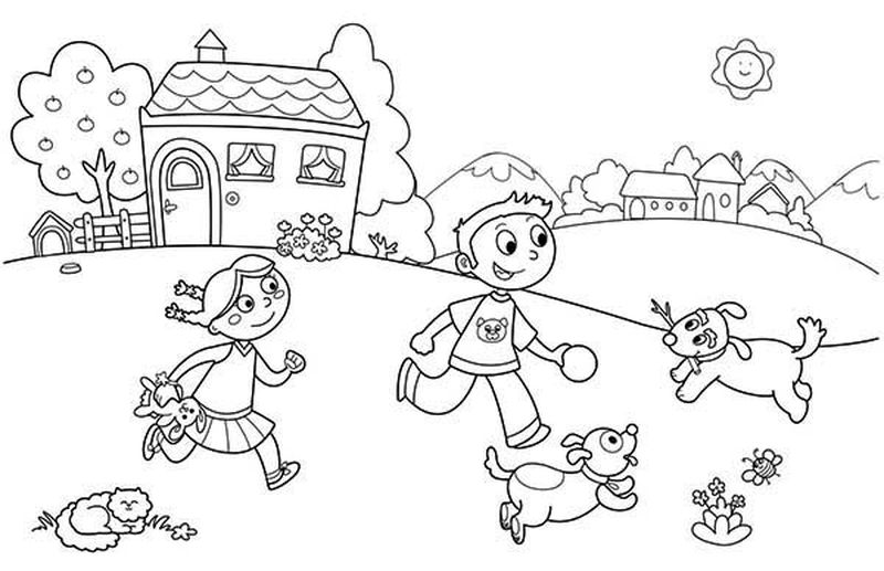 Holiday Coloring Pages To Print and For Free