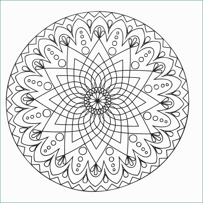 Kids Mandala Printable