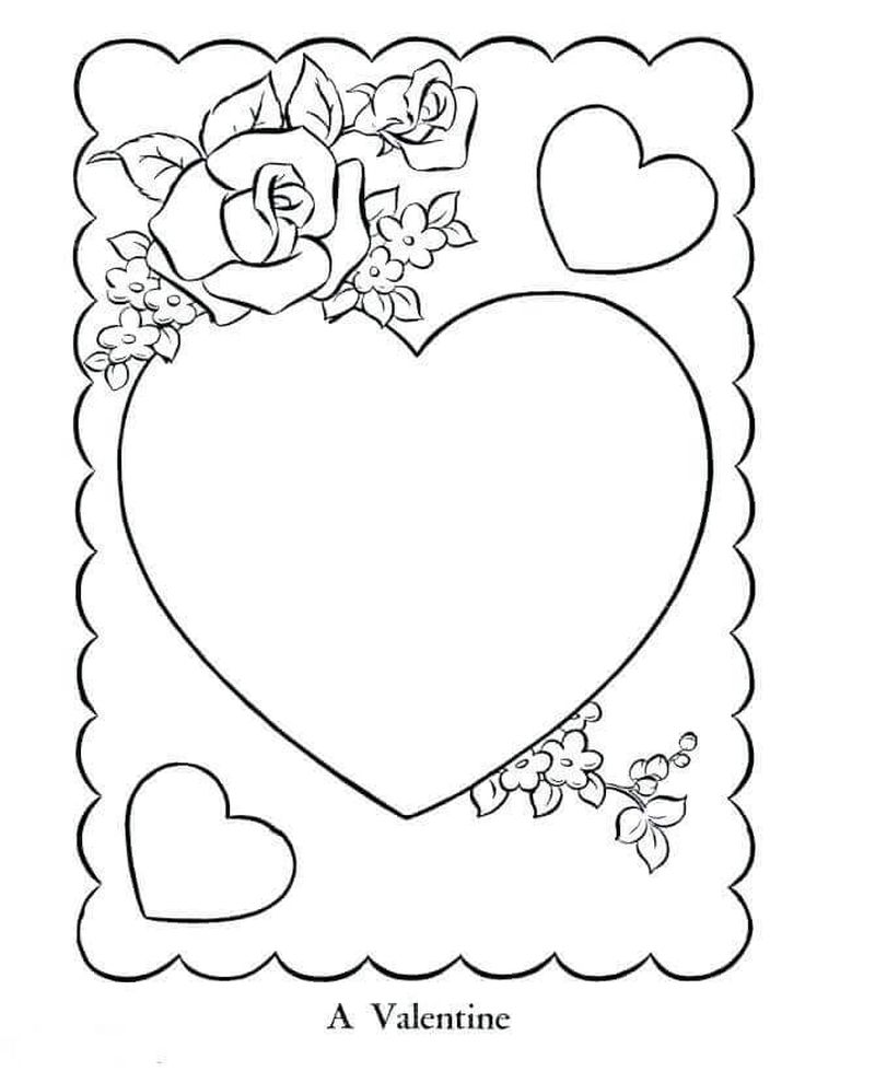 Love Printable Coloring Pages Printable
