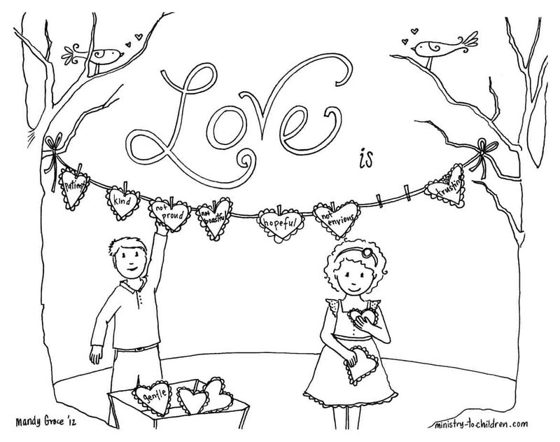 Love Quote Coloring Pages Printable
