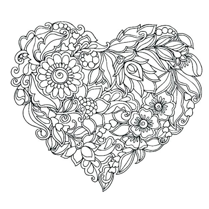 Love You Coloring Pages Printable