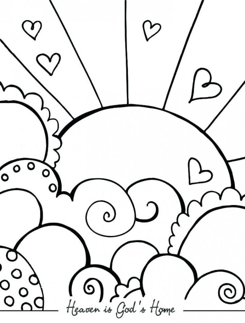 Love Your Neighbor As Yourself Coloring Pages Printable