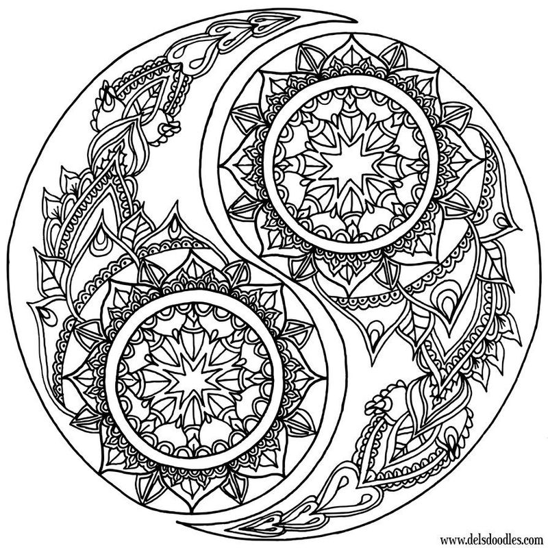 Mandala Coloring For Kids Printables